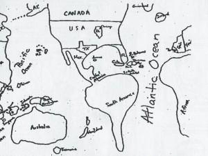 carte américain
