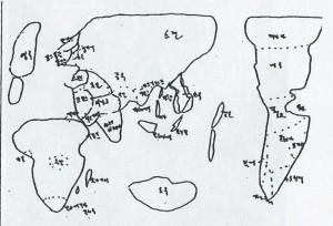 carte corréen